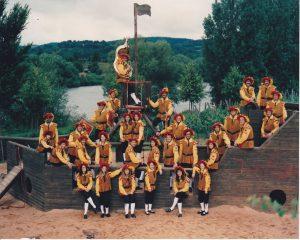 Musikkorps Spielschiff